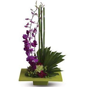 Modern artistic flowers