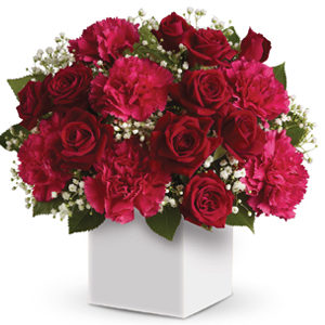 heart of christmas christmas flowers westridge florist toowoomba