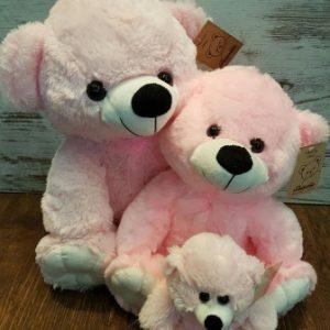 soft plush pink bears westridge florist
