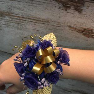 artificial flower wrist corsage