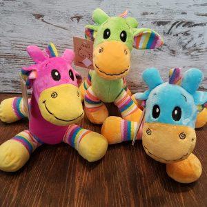 colourful bright giraffe